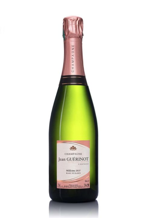 Champagne Jean Guerinot Millesime 2015 Packshot bouteille de champagne-troyes